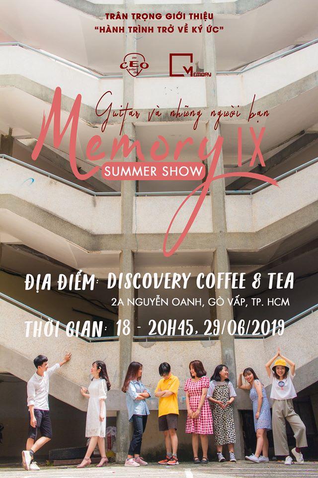 Memory IX summer show - Giutar và những người bạn