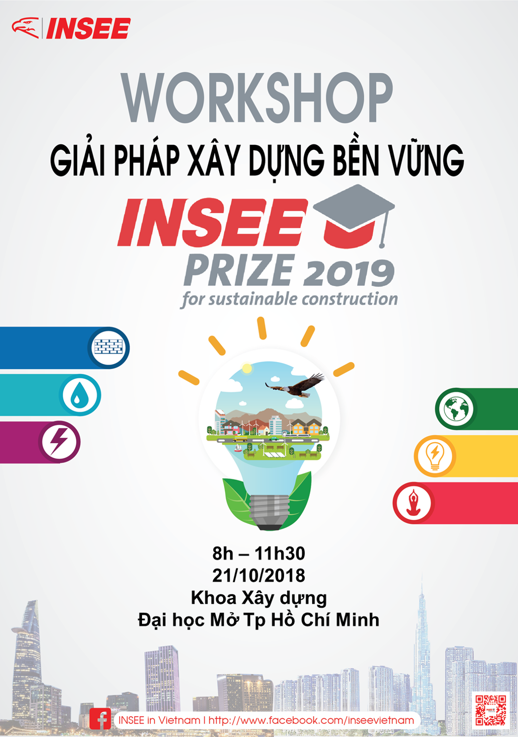 Workshop Giải Pháp xây Dựng Vững Bền - Insee Prize 2019