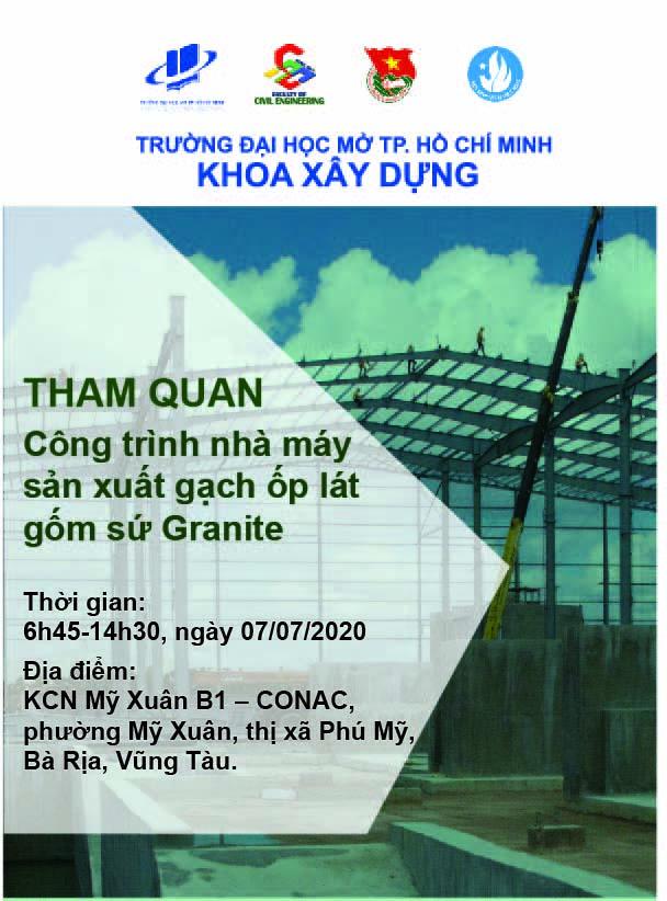Tham quan công trình Công ty Cổ phần Gốm sứ Granite VTC